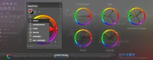 Tip#21: Colors with color schemes in photoshop by Anastasiy