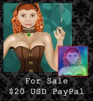 FOR SALE - Steampunk Woman Bundle by PointyHat