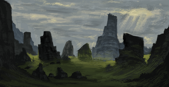 18 - The Rock Forest by AJASC