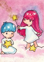 Little Twin Stars by nanako87