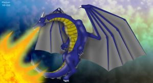 Ralter Breathing Fire by ralter