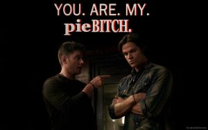 Supernatural - Dean+Sam-Pie by LadyJenney