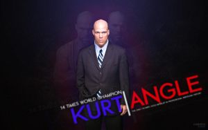 Kurt Angle - Wallpaper by ChristoSivek