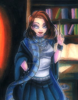 [Gift] Ravenclaw Magician by Veilody