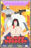Rambo / Robocop by Hartter