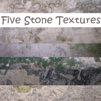 5 Stone Textures by stock-it