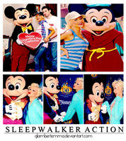 Sleepwalker Action. by glambertemma