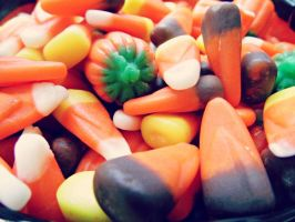Candy Corn by HungryGhostt