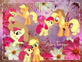 Big Sisters Friends Forever by ApplejackCowgirl