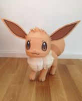 Life Size Eevee Papercraft view 1 by giden445