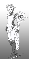Mercy - Male Version - Overwatch by forkandspoon00