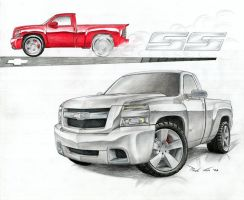 Chevy Silverado SS - 2007 by SeawolfPaul
