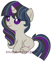 AT Shipping foal for MapleTheNerd by SugarMoonPonyArtist