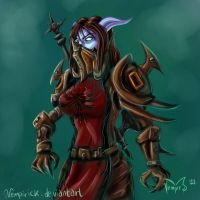 draenei warrior speed paint by vempirick