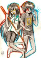 chaly x sollux by Gresta-GraceM