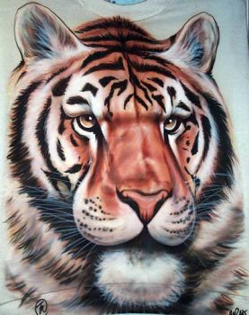 Tiger by iPaintAirbrushStudio