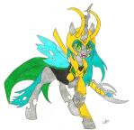 Chrysalis as Loki by TvenSnake
