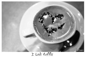 I LOve Coffee by Kemao