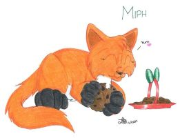 x-mas gift for Miph by BlueLumi