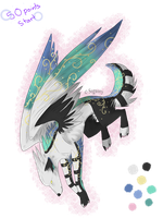 Winged wolf Auction -CLOSED- by LLYadopts
