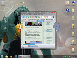 Ed and Al on my Desktop XD by zb5766