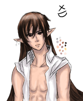 Hot elf Bishie...lol by xxBeckyAngelxx