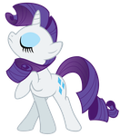 Rarity, Snooty Mode Activated by Kittita