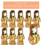 Step by Step: Coloring the Hair by Nanamichiii