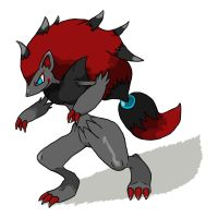 Zoroark by InfernalEvanesce