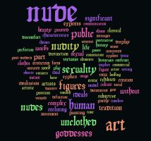 Nude Art Word Cloud 2 by phydeau