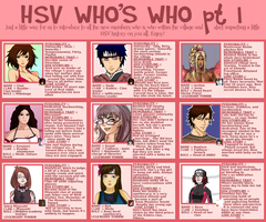 HSV WHO'S WHO -LEADERS by Sorceress2000