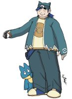 Snorlax Trainer: Ian by MaverickTears