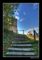 steps in the shadow by RRVISTAS