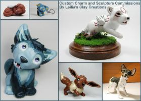 Custom Sculpture Commissions by LeiliaK