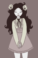 gothic lady princess by runningfern