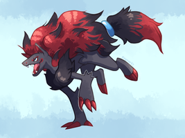 Zoroark Remake of a Remake by Raynart7