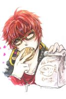 707 with Taiyaki for Oretsuu. by TashaChan