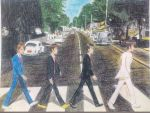 The Beatles - Abbey Road - In Anime Style by Namco-NintendoFan-88