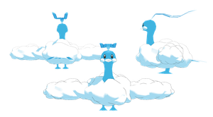 Altaria - Pokemon MMD Unrigged by NipahMMD