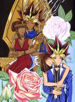 Yami and Teana: Yami and Tea by Yamigirl21