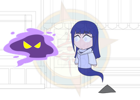 Chibi Chain - Alien Attack - A Wild Ghost Appears by Dragon-FangX