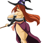 The Sorceress by OverlordZeon