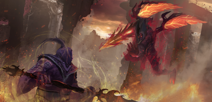 Jax vs Aatrox by Hachiimon