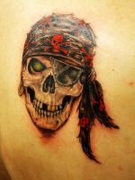 alan barbosa tattoo skull 89 by alanbarbosatattoo