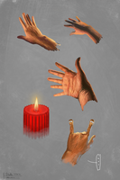 Colour Study_hands by Lankya