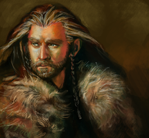 Thorin Oakenshield by Vogelspinne