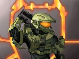 Master Chief - Halo 4 by Espy-Shinrai