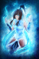 Commission: Korra by LibeRitee