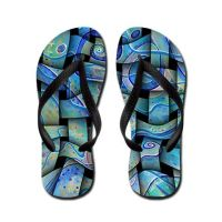 santoshirts abstract flipflop by santoshirts