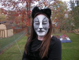 Cat face makeup 1 by Meliss